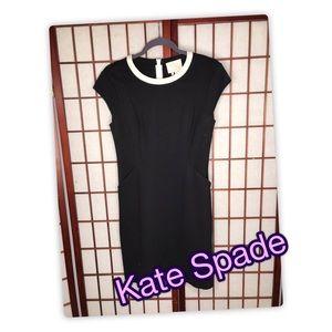 Kate Spade Black Dress with Pockets Size 4